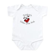YaYa's Love Bug Ladybug  Infant Bodysuit