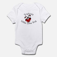 YaYa's Love Bug Ladybug  Infant Bodysuit