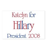 Katelyn for Hillary 2008 Postcards (Package of 8)