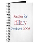 Katelyn for Hillary 2008 Journal