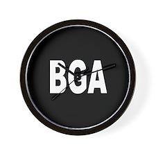 BGA Wall Clock