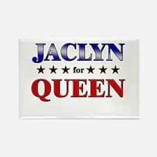 JACLYN for queen Rectangle Magnet