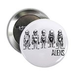 Hand Sketched Aliens Button