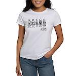 Hand Sketched Aliens Women's T-Shirt