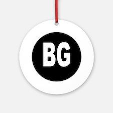 BG Ornament (Round)
