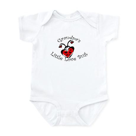 Grandpa's Love Bug Ladybug Infant Bodysuit