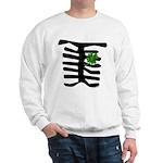 St Patrick Skeleton & Shamrock Sweatshirt