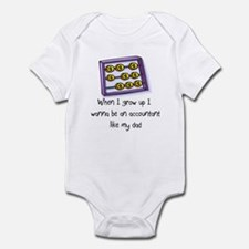 Accountant Infant Bodysuit