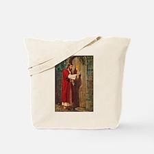 Jesus Knocks On The Door Tote Bag