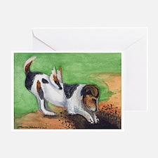Terrier Wings Greeting Card