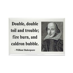 Shakespeare 24 Rectangle Magnet (10 pack)