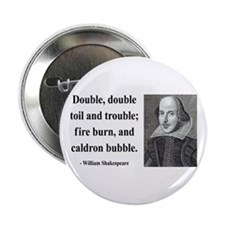 "Shakespeare 24 2.25"" Button"