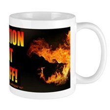 #0196 CAUTION HOT STUFF! Mug