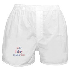 Lily for Hillary 2008 Boxer Shorts