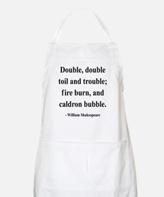 Shakespeare 24 BBQ Apron