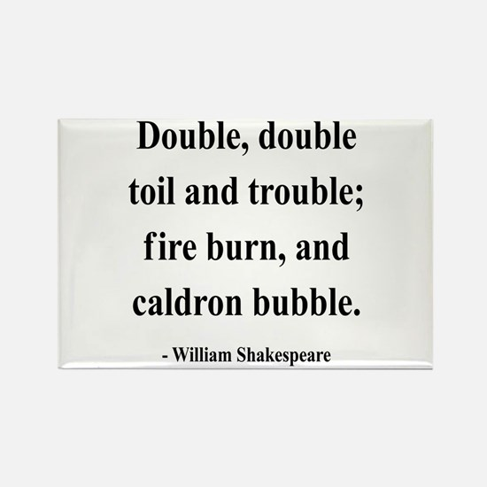 Shakespeare 24 Rectangle Magnet