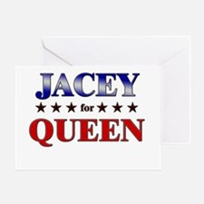 JACEY for queen Greeting Card