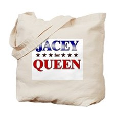 JACEY for queen Tote Bag