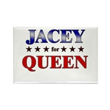 JACEY for queen Rectangle Magnet
