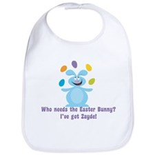 Easter Bunny? I've got Zayde! Bib