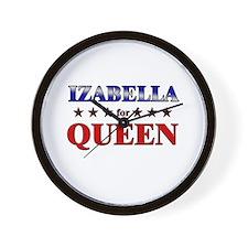 IZABELLA for queen Wall Clock