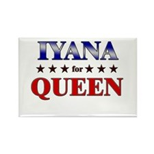 IYANA for queen Rectangle Magnet
