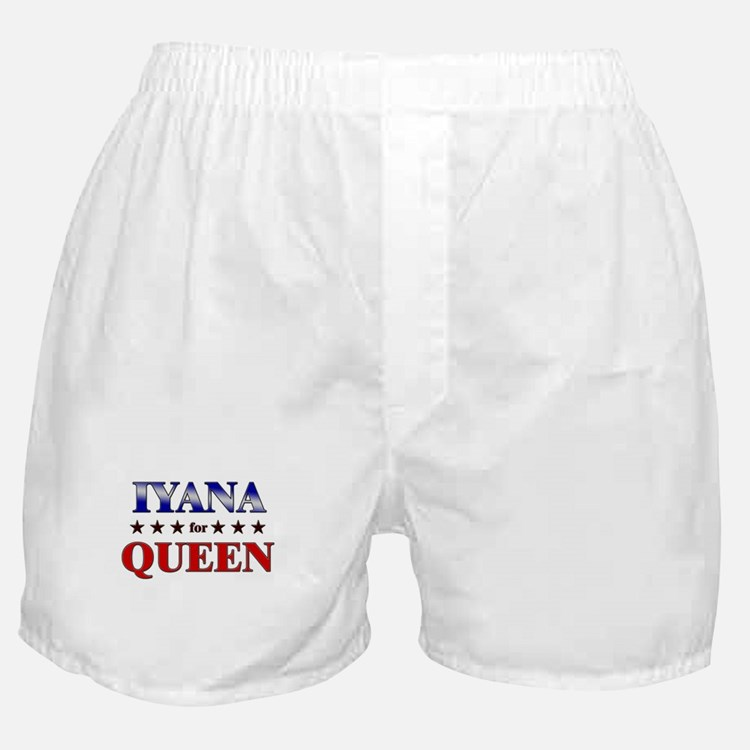 IYANA for queen Boxer Shorts