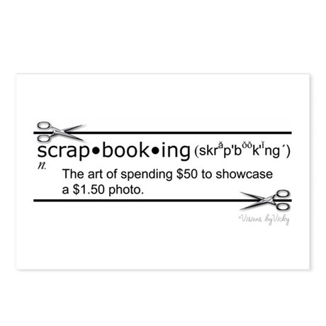 Spending $50 Postcards (Package of 8)