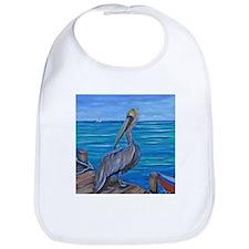 Pelican on The Pier Bib