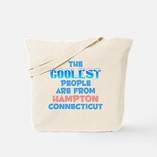 Coolest: Hampton, CT Tote Bag