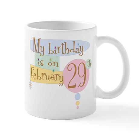 February 29th Retro Mug
