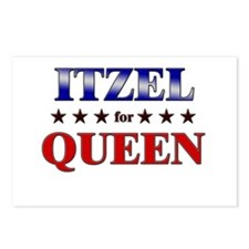 ITZEL for queen Postcards (Package of 8)