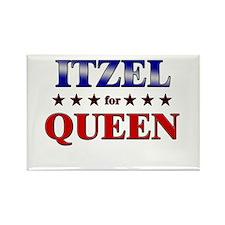 ITZEL for queen Rectangle Magnet