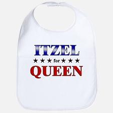 ITZEL for queen Bib