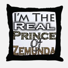 Prince of Zemunda Throw Pillow