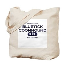 Property of Bluetick Coonhound Tote Bag