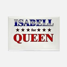ISABELL for queen Rectangle Magnet