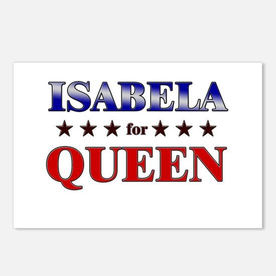 ISABELA for queen Postcards (Package of 8)