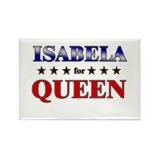 ISABELA for queen Rectangle Magnet