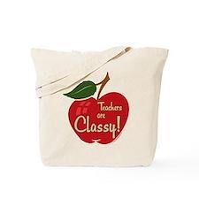 Classy Teacher Tote Bag