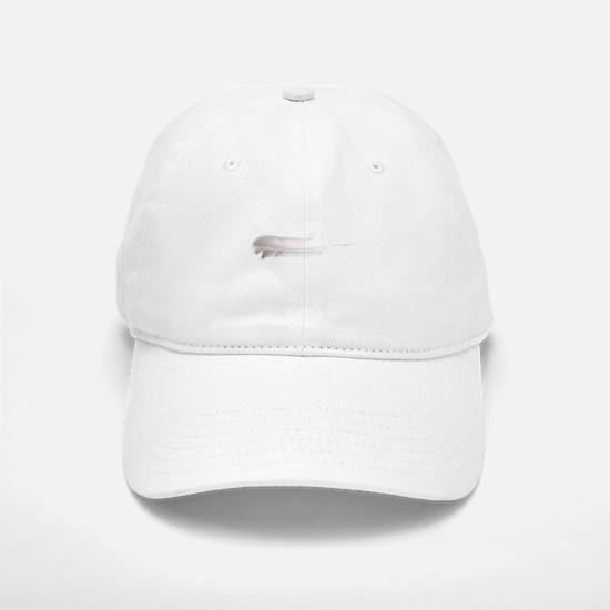 Dove Feather White to side Baseball Baseball Cap