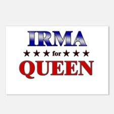 IRMA for queen Postcards (Package of 8)