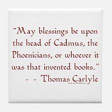 Cadmus & Phoenicians<br> Tile Coaster