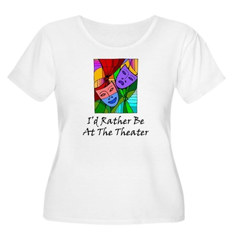 Theater Women's Plus Size Scoop Neck T-Shirt