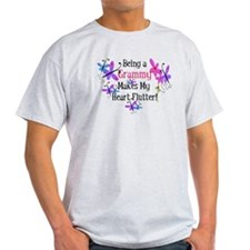 Grammy Heart Flutter T-Shirt