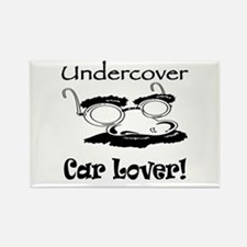 Undercover Car Lover Rectangle Magnet