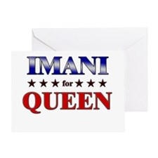 IMANI for queen Greeting Card