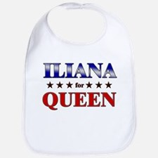 ILIANA for queen Bib