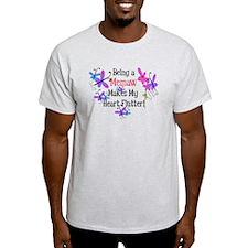 Memaw Heart Flutter T-Shirt