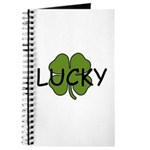 LUCKY 4 LEAF CLOVER Journal
